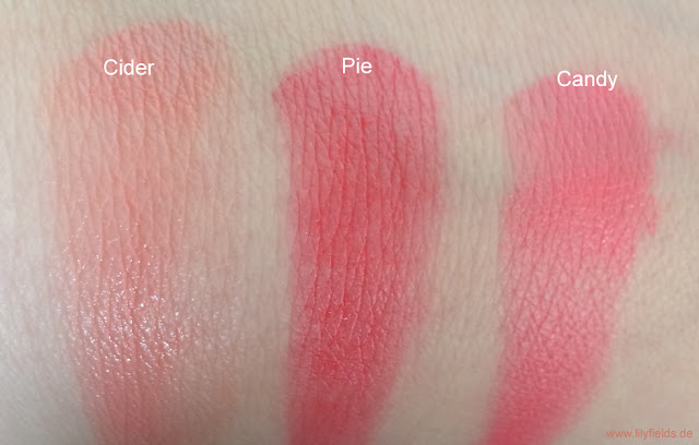 "Swatches Cheek & Lip Cream Palette ""How 'bout the Apples?"" von The Balm"