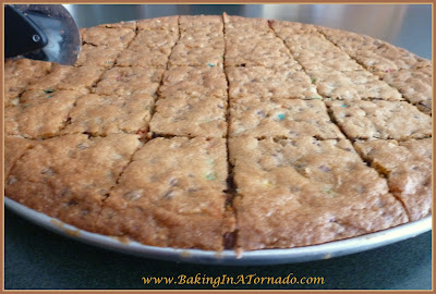Giant Everything Cookie| www.BakingInATornado.com | #recipe