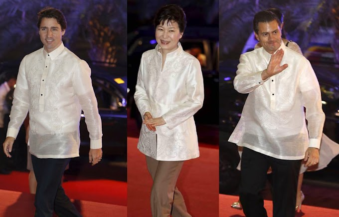 APEC Barongs Shine Elegantly Because Of Negros Island Silk