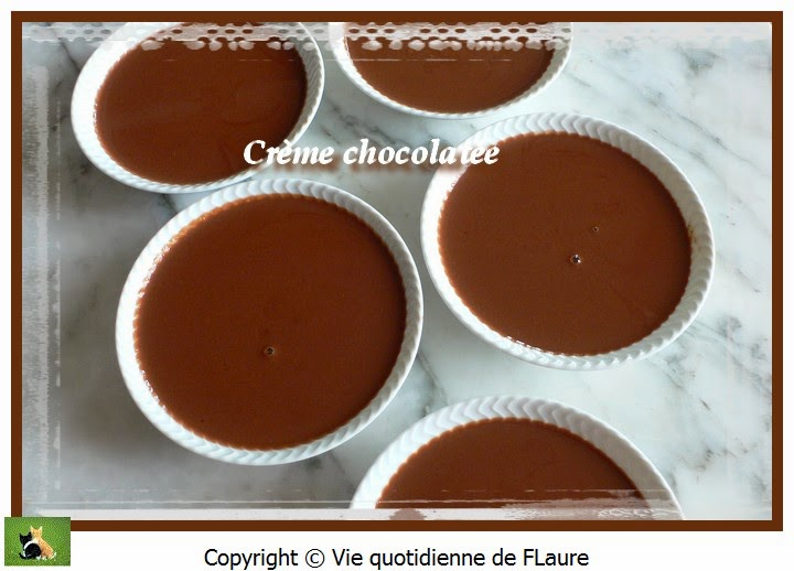 Vie quotidienne de FLaure: Crème chocolatée