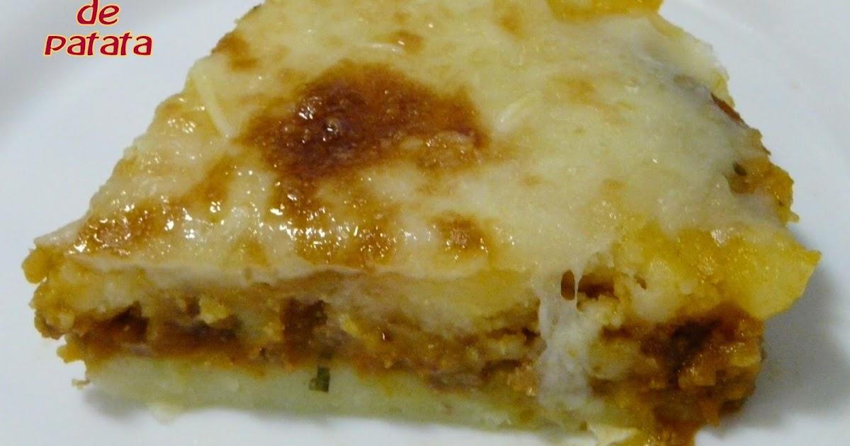 El buen yantar de sefa pastel de patatas olla s per r pida - Patatas en olla rapida ...