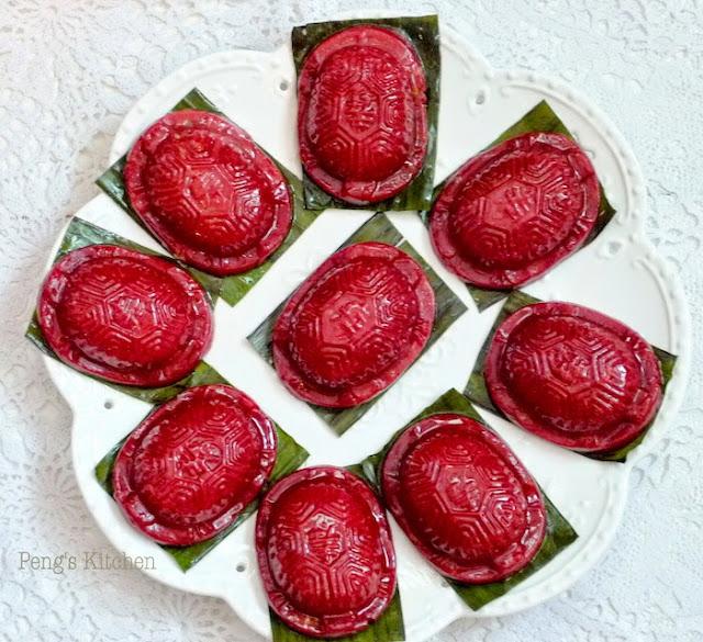 ????? Red Yeast Ang Ku Kueh