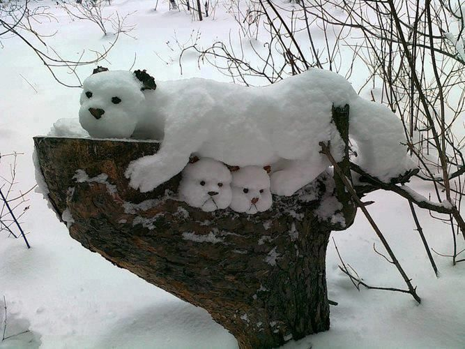 DIY%2BCreative%2BSnow%2BSculptures%2BIdeas%2BBy%2BPeople%2BWho%2BHave%2BMastered%2BThe%2BArt%2BOf%2BSnow%2B%25285%2529 20 DIY Ingenious Snow Sculptures Concepts By way of Other people Who Have Mastered The Artwork Of Snow Interior
