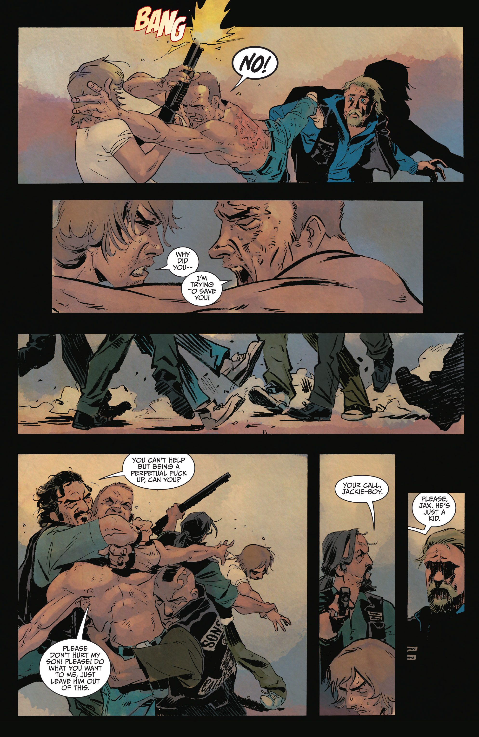Read online Sons of Anarchy comic -  Issue #15 - 18