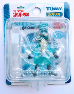 Lucario figure clear version Tomy Monster Collection 2005 movie promo