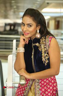 Telugu Actress Sri Reddy Mallidi Stills in White Beautiful Dress at Marriage Needs Bridal Fashion Week 2017 Logo Launch  0117.JPG