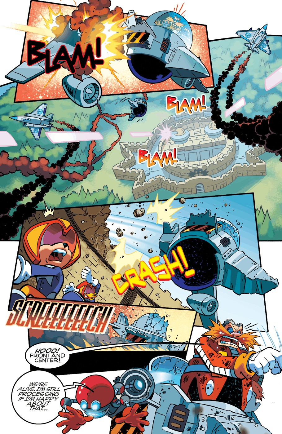 Read online Sonic The Hedgehog comic -  Issue #254 - 4