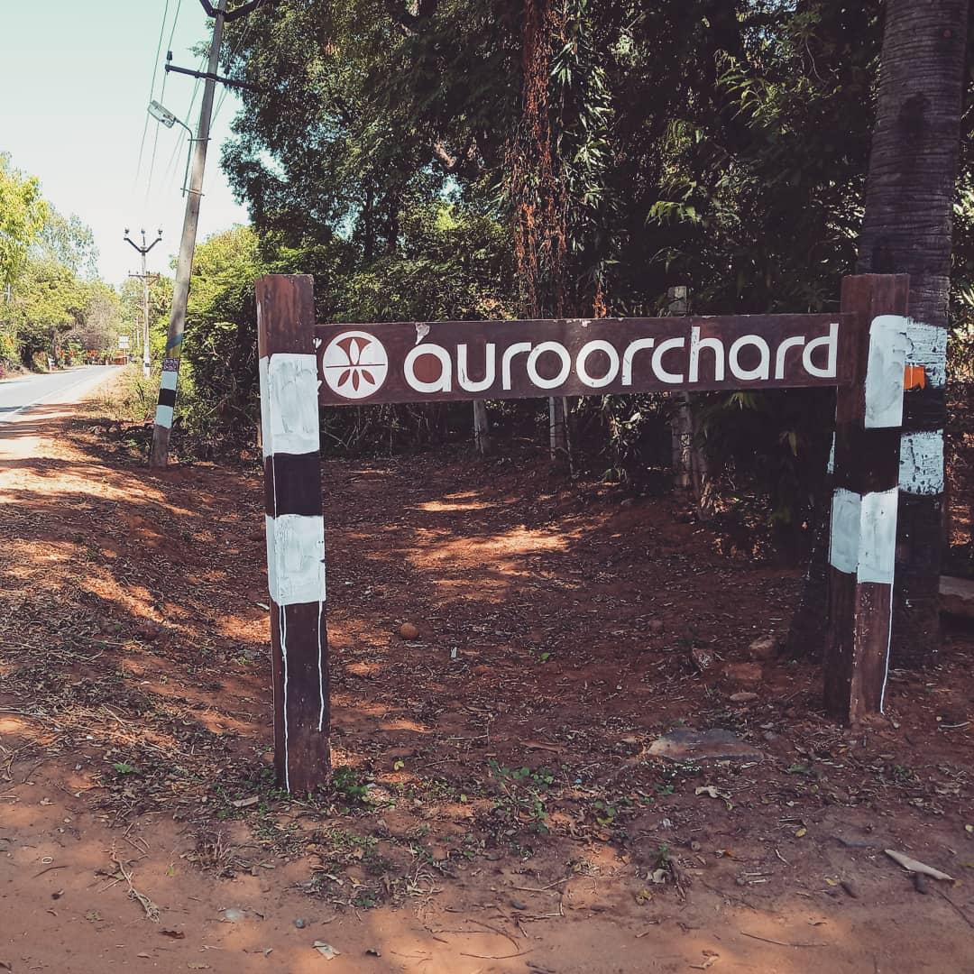 Auro orchard signage
