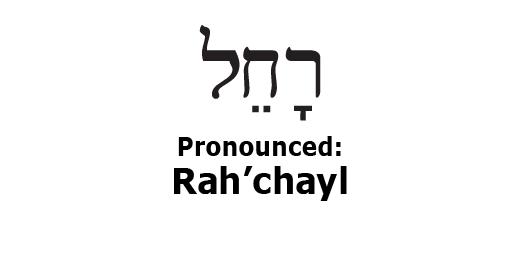 twebrew school the hebrew name rachel