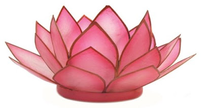 $13.99 - Lotus Blossom Candle Holder Springtime Bohemian Home Decor {Pastel Bohemian, Springtime Boho Home Decorations, Bohemian Easter}