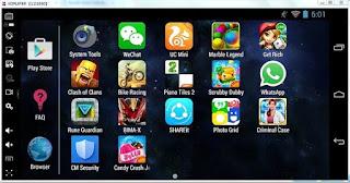 koplayer-emulator android di pc terbaik ringan