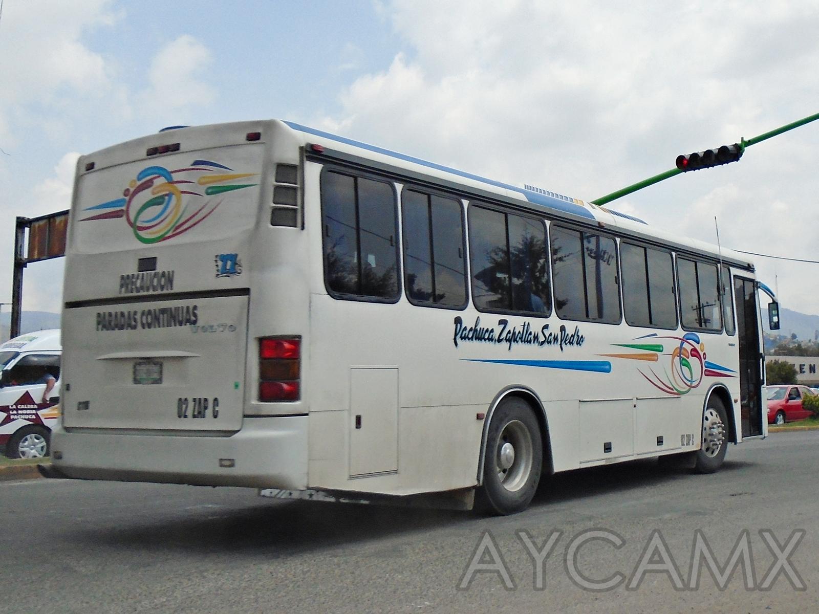 AYCAMX - Autobuses y Camiones México : Camiones Hidalgo 66
