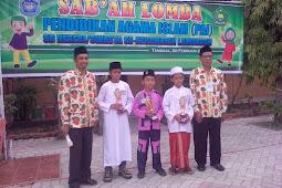 SDN Jetis 3 Meraih Juara SAB'AH LOMBA 2018