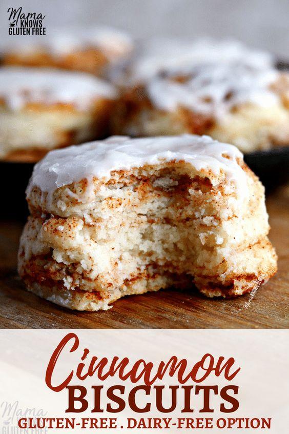 Gluten-Free Cinnamon Biscuits {Dairy-Free Option}