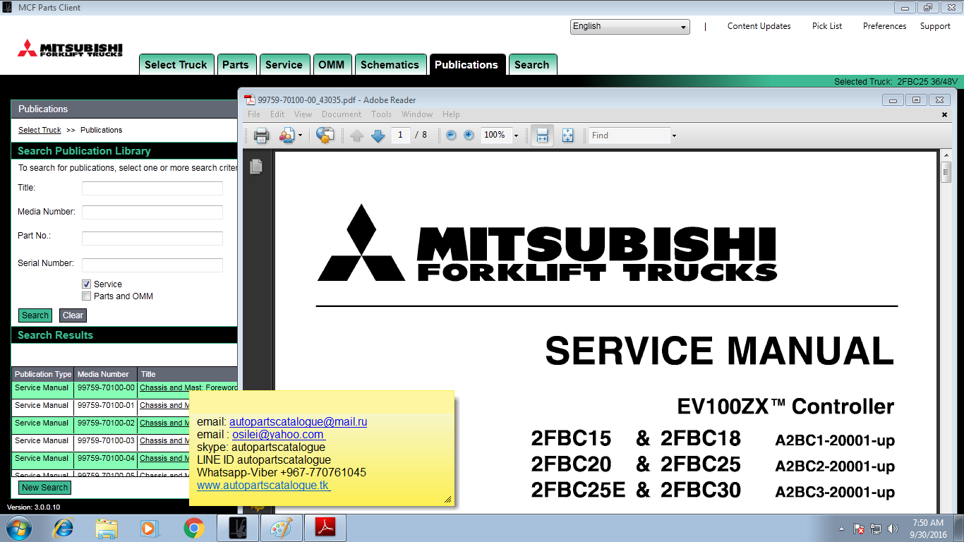 Mitsubishi Fg25 Fork Lift Schematic - Wiring Diagrams ROCK