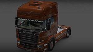 Scania Black Amber by Vlasta - ETS 2 Mods