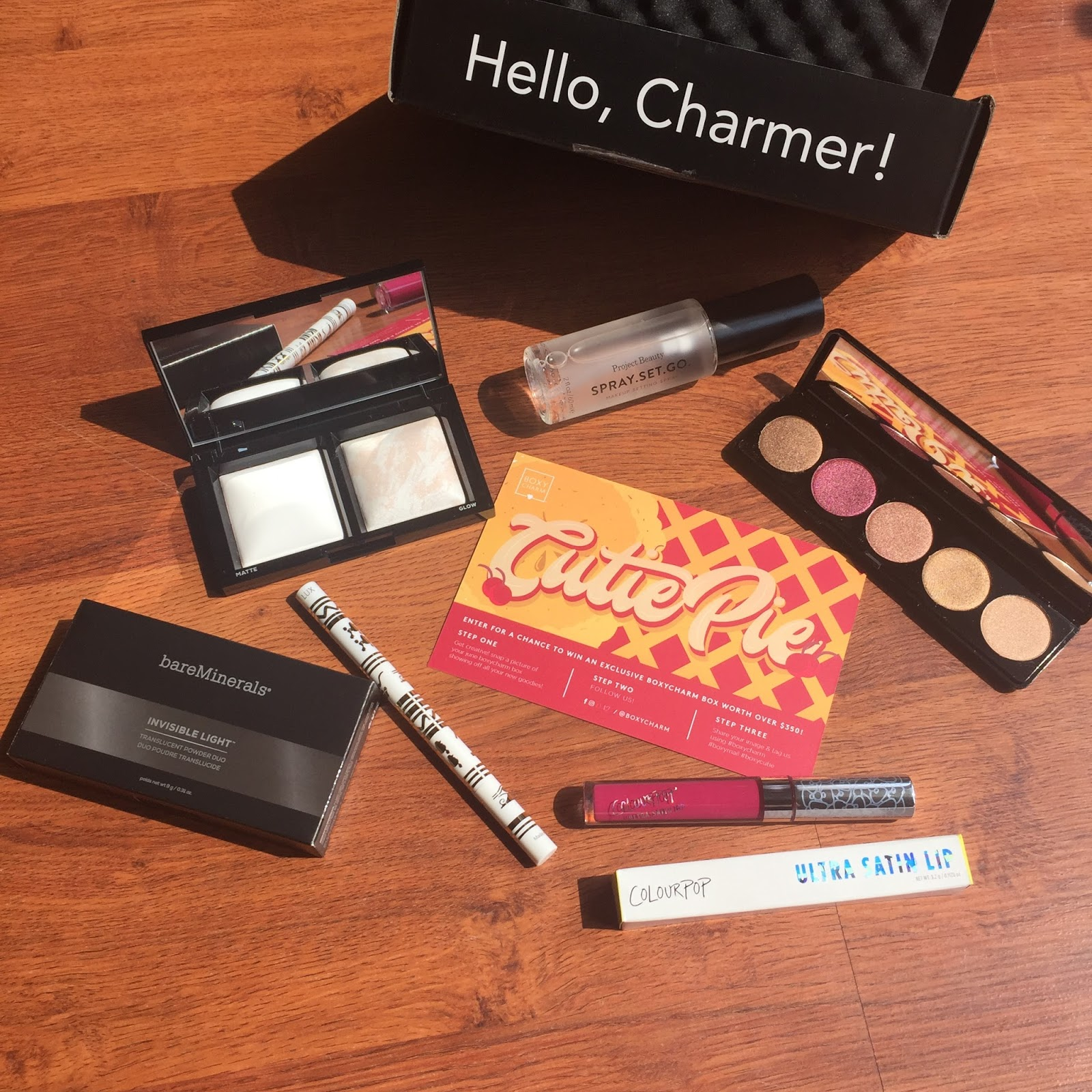 Boxycharm Review - July 2017 - Beauty Subscription Box