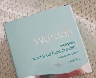 review dan harga wardah luminous face powder penting