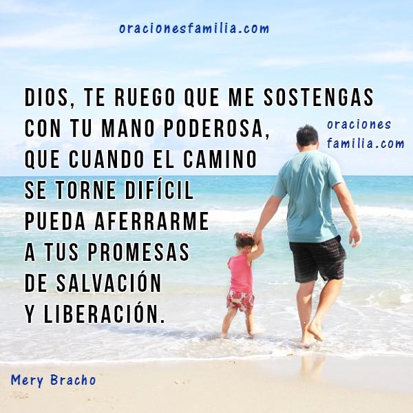 Oración de Buenos Días a Dios. Oraciones de Protección en este día con imágenes cristianas y frases por Mery Bracho.