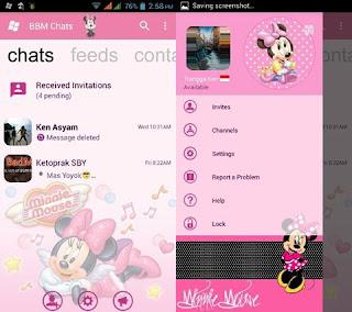 Download Kumpulan BBM MOD Karakter Tokoh Kartun Terlengkap mashaandthebearDownload Kumpulan BBM MOD Karakter Tokoh Kartun Terlengkap minnieymouse