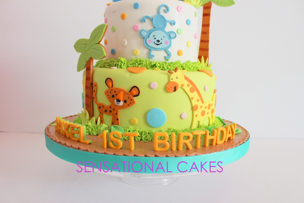The Sensational Cakes ANIMALS KINGDOM LION KING CHILDREN