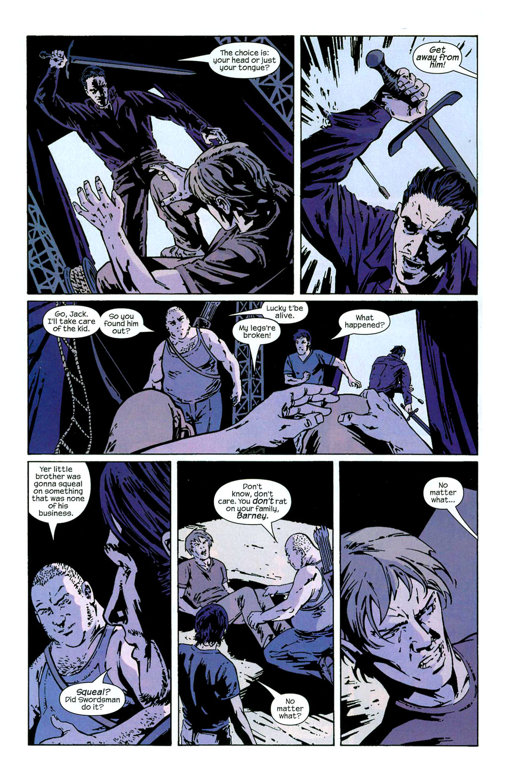 Hawkeye (2003) Issue #3 #3 - English 4