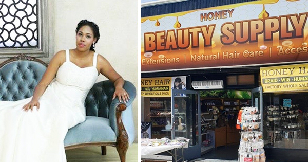 Jessica Fry, owner of Honey Hair Beauty Supply in South Korea