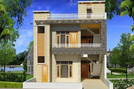 model rumah 2 lantai mungil - kumpulan gambar desain rumah minimalis 2 lantai