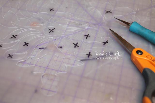 Doodlecraft Dollar Store Hacks Silhouette Cutting Mats