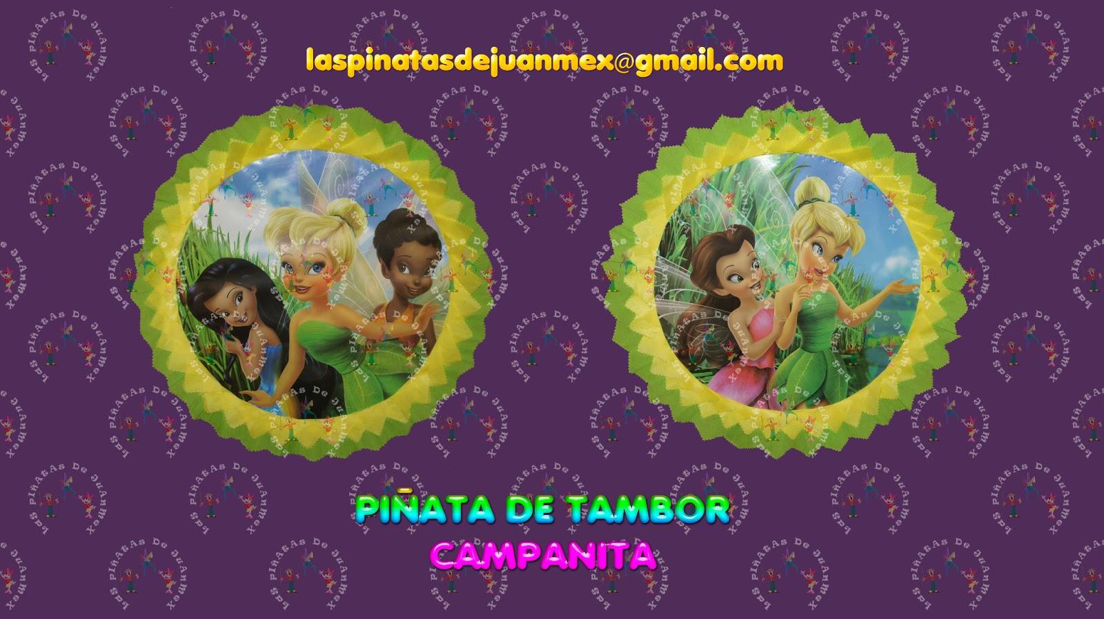 LAS PIATAS DE JUANMEX Piatas de tambor Campanita