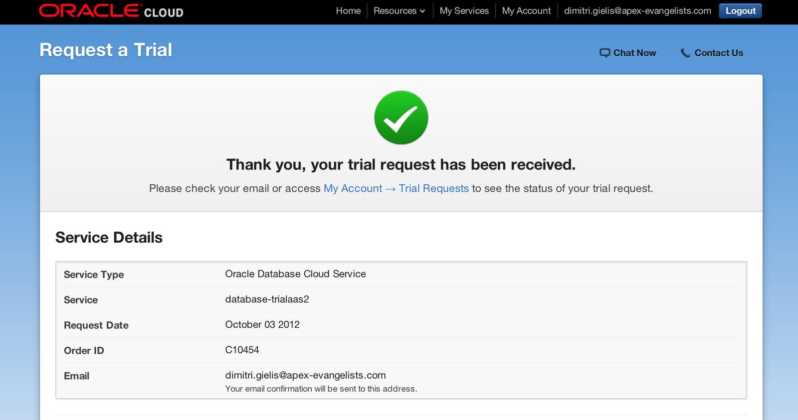 Dimitri Gielis Blog (Oracle Application Express - APEX): Oracle