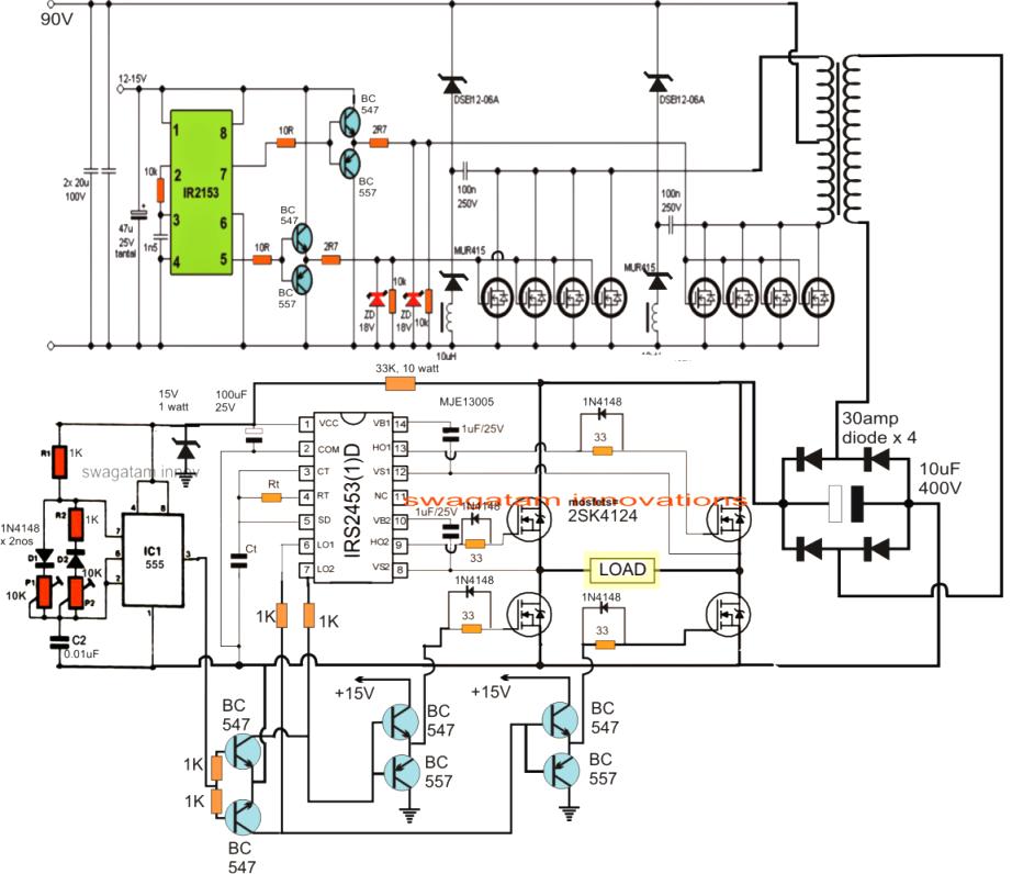 voltmeter schemetic circuit schematic circuits