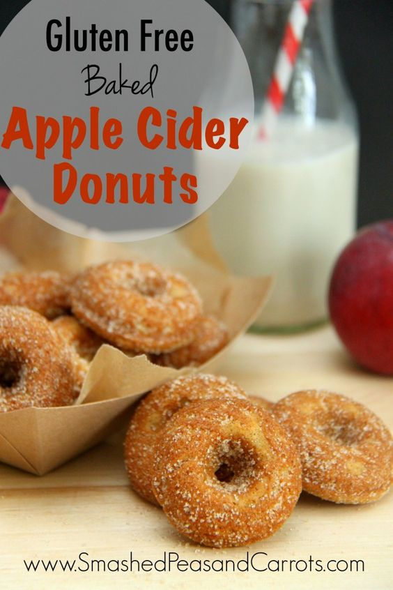 Gluten Free Baked Apple Cider Donuts