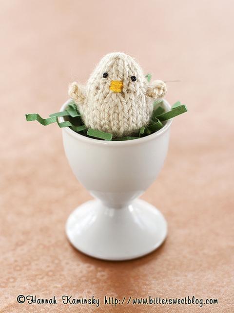 Patron Polluelo en Crochet