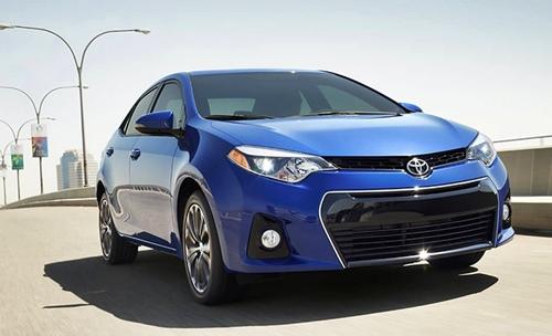 Blue Crush Toyota Corolla 2016