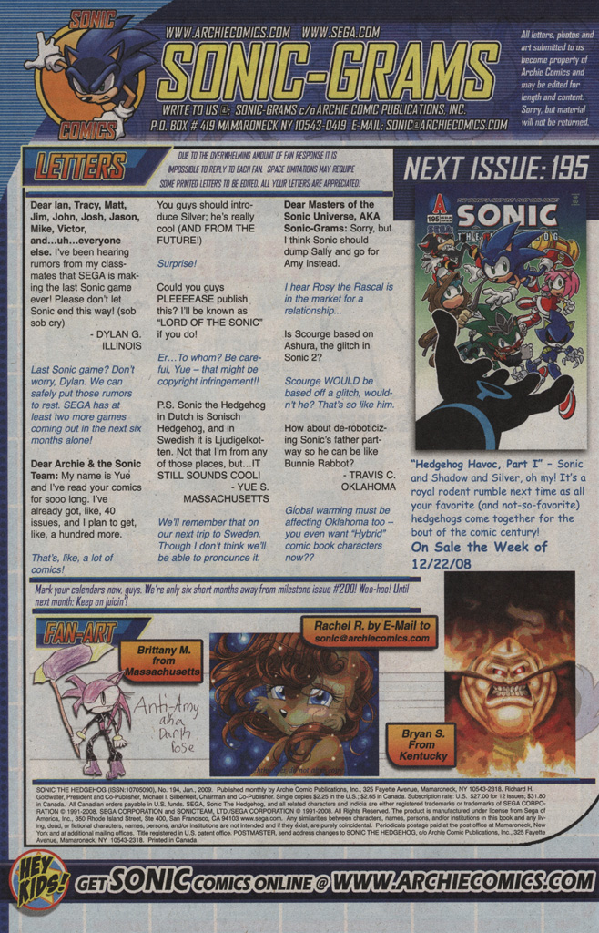 Read online Sonic The Hedgehog comic -  Issue #194 - 28