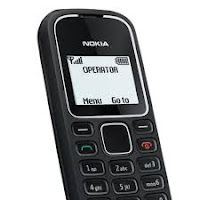 Screen shot of Nokia 1280 device