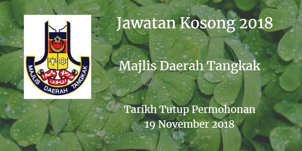 Jawatan Kosong MDT 19 November 2018