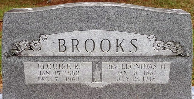 Dodd Mitchell Darin Death 1963: Roots From The Bayou: Rev. Leonidas Hill Brooks Family