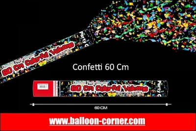 Party Popper / Confetti Ukuran 60 Cm