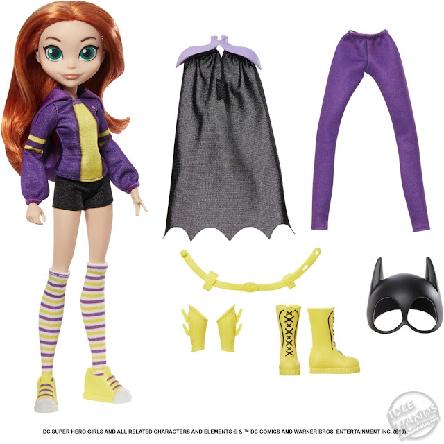 Toy Fair 2019 Mattel DC Super Hero Girls Teen Life to Superher Action Doll Batgirl