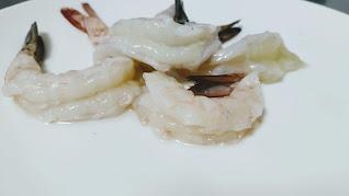 Deveined prawns for Tandoori prawns Recipe
