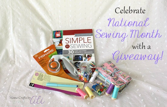 national sewing month 2016 supply giveaway notions fabric