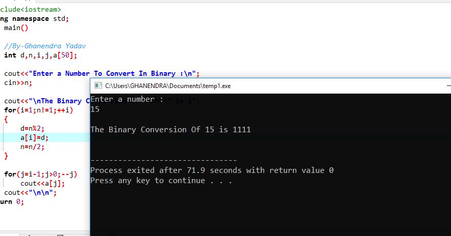C Programming Examples