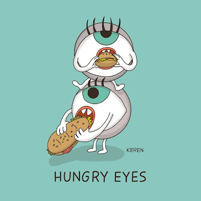 HUNGRY EYES.