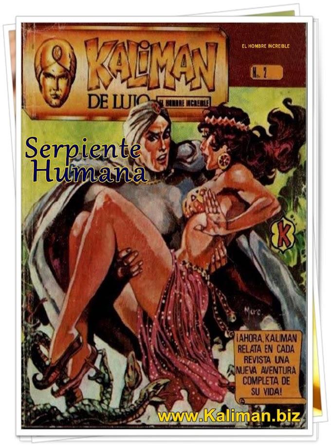 La Serpiente Humana