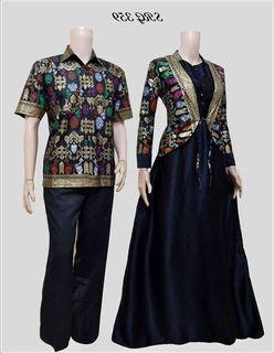 Model Baju Batik Couple Atasan
