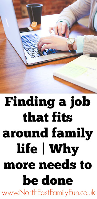 How to find a part time job that fits around family life. Join Hire Me My Way's campaign