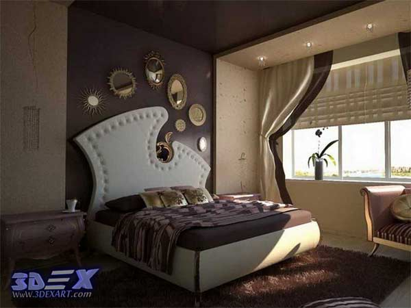 Art Deco Style Interior Design Bedroom Decor And Furniture