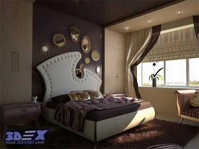 art deco style, art deco interior design, art deco bedroom decor and furniture